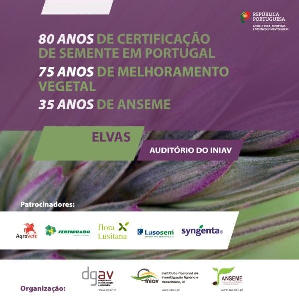 Simpósio Comemorativo dos 80 anos de Certificação de Sementes em Portugal | 26 de junho