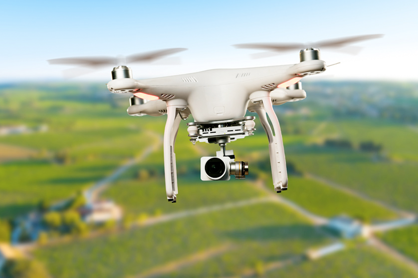 Drones e robots: Agricultura também é tecnológica