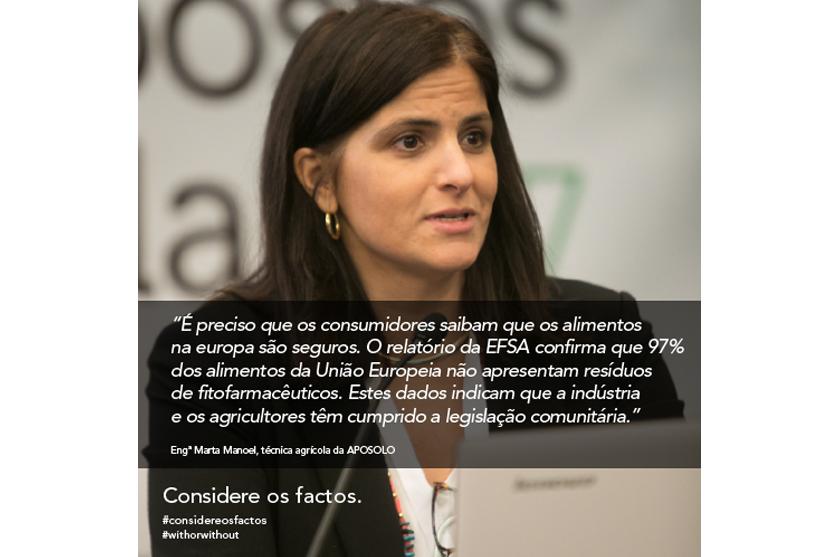 Marta Manoel, da Associação Portuguesa de Mobilização de Conservação do Solo (APOSOLO)