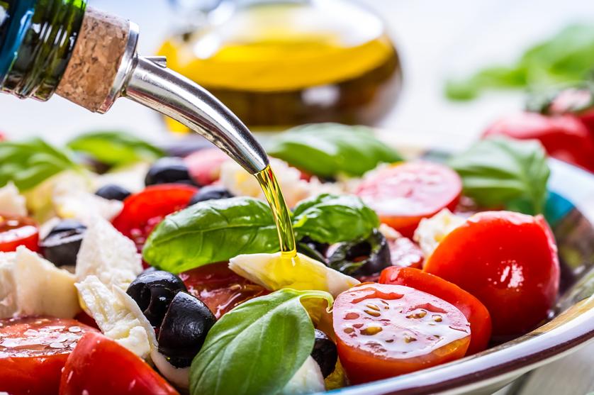 Dieta Mediterrânea promovida em campanha nacional.