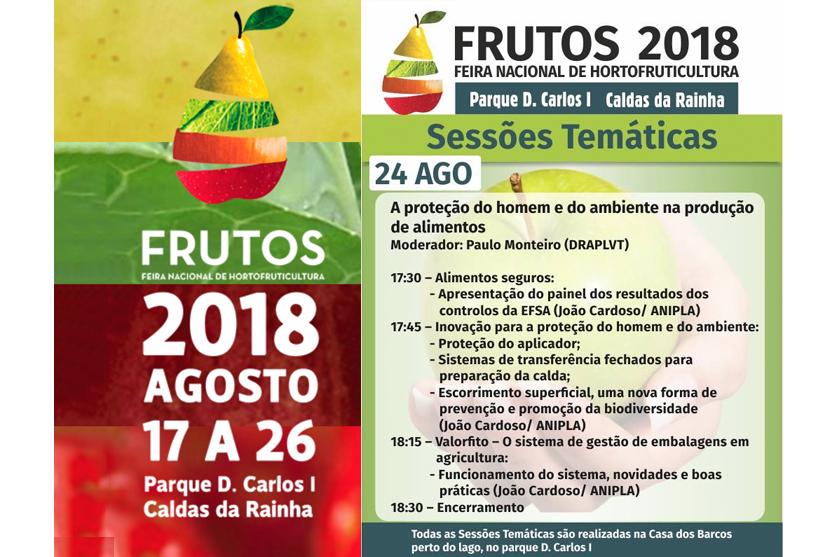 ANIPLA debate segurança na produção de alimentos, na FRUTOS 2018.